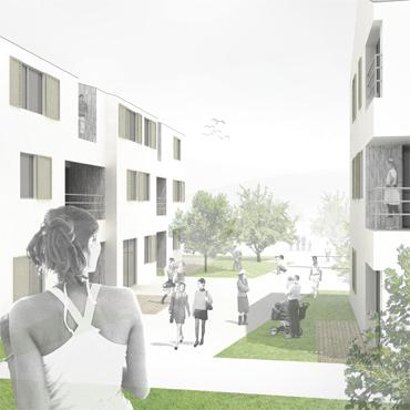 Social Housing Cogorno