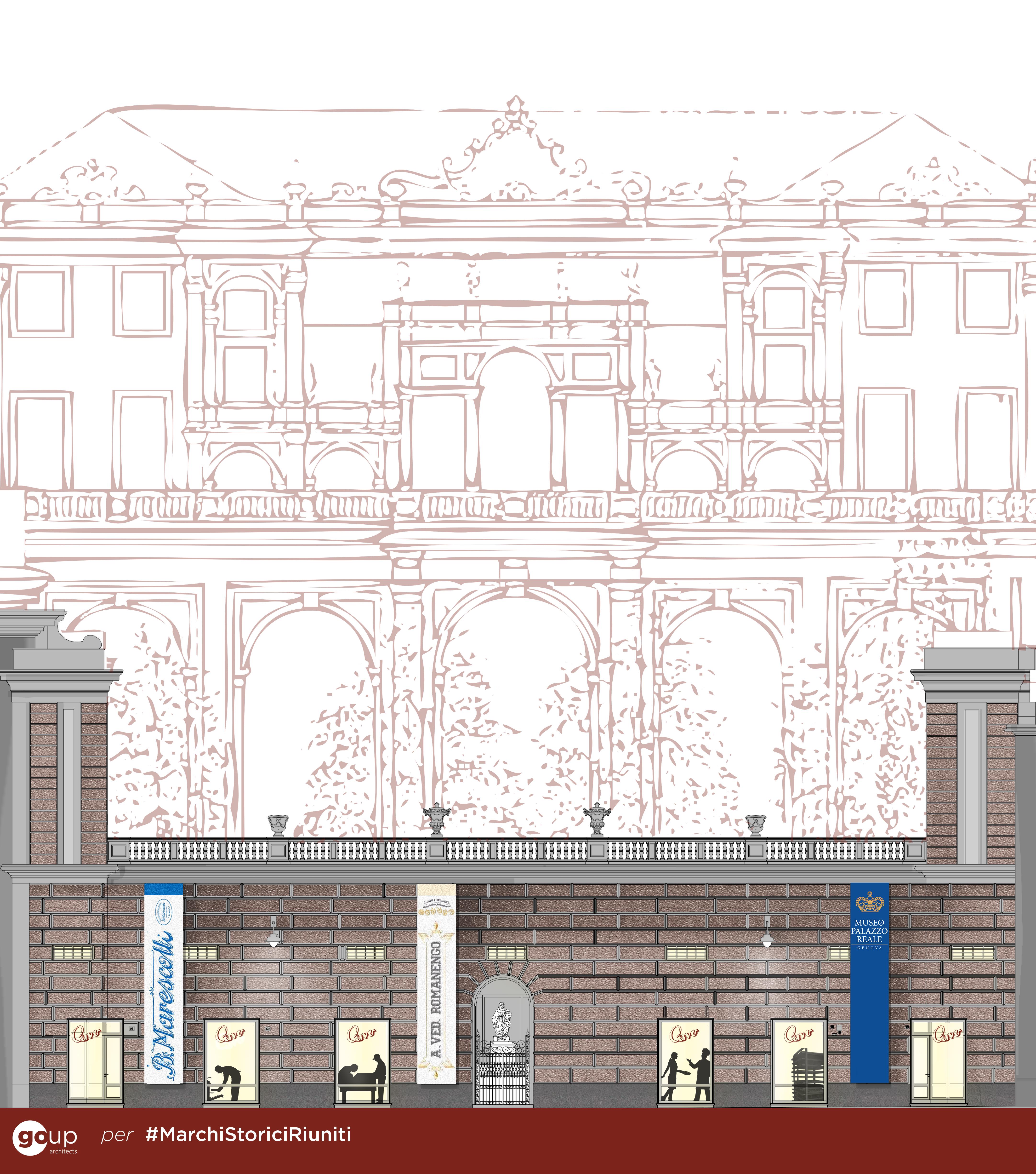 Marchi Storici Riuniti a Palazzo Reale