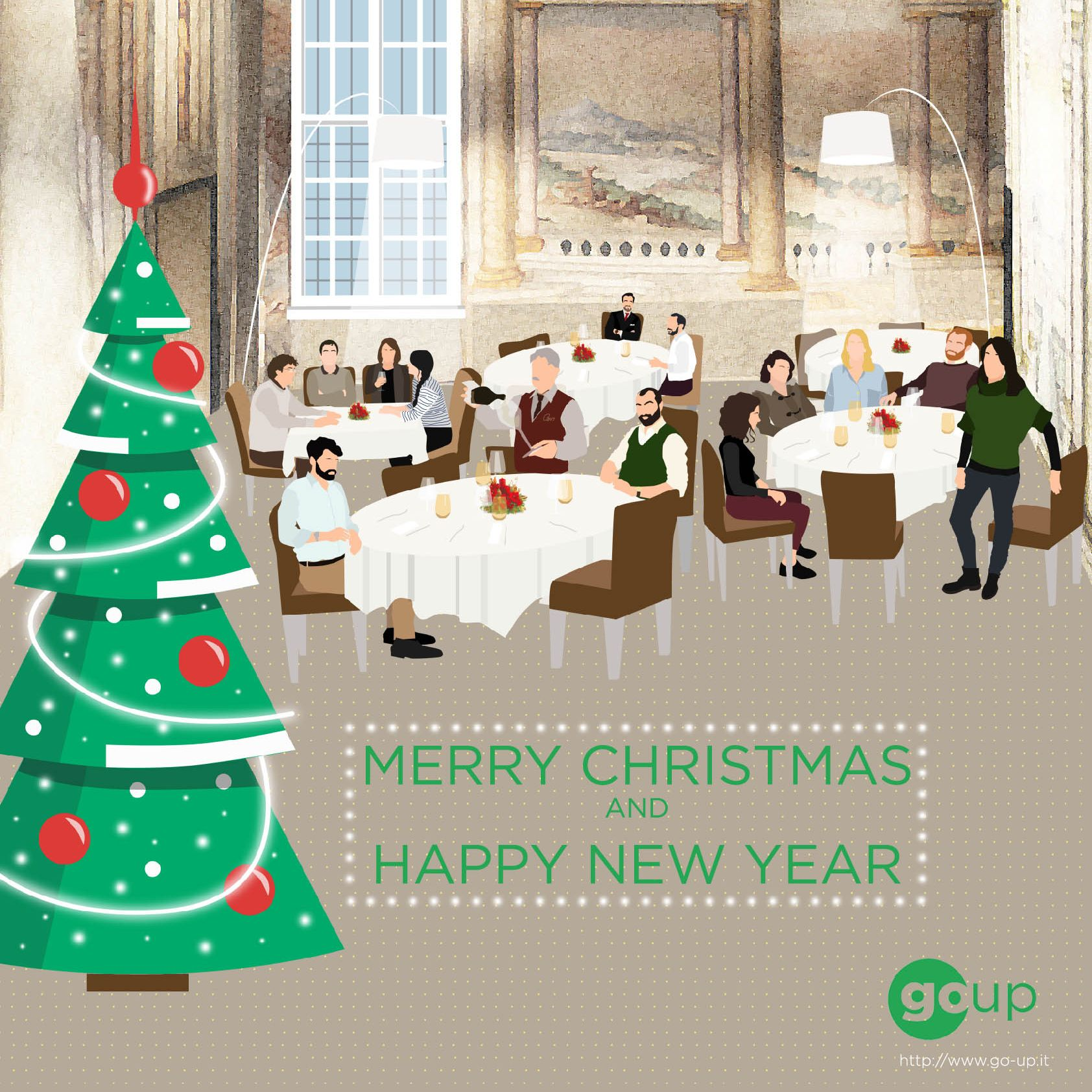Go-Up Architects wish you a Merry Christmas and a Happy New Year!
