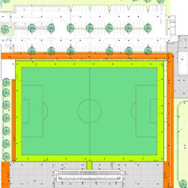 Nuovo centro sportivo di Cislago
