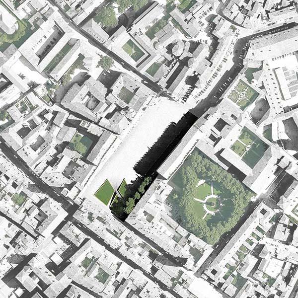 Riqualificazione di Piazza Sordello a Mantova