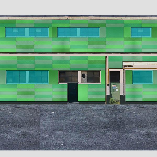 Restyling esterno edificio centro raccolta rifiuti AMIU