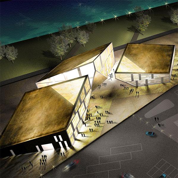 Masterplan per la città della moda di Shenyang, Cina